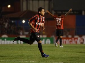 Éderson fez o gol atleticano na partida / Foto: Divulgação Atlético