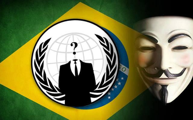 """O grupo de """"hacktivisitas"""" Anonymous vem crescendo no Brasil, organizando diversos protestos desde as manifestações de junho Foto: Reprodução/Facebook"""