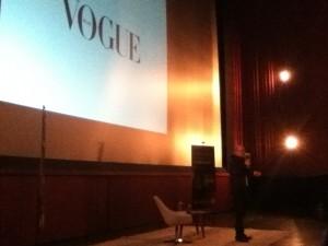 """""""Sou uma pessoa de imagem, não texto"""" afirma o Diretor de Moda da revista Vogue Brasil Foto: Lana Gillies"""