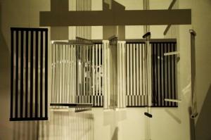 Obras buscam a interação com o público de diversas formas (Foto: Mariana Benevides)
