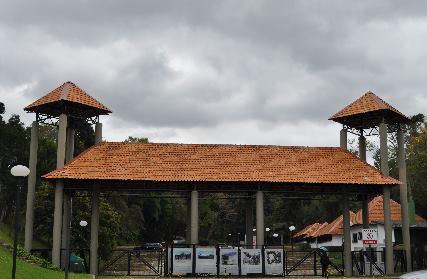 A Pedreira Paulo Leminski, fechada para eventos desde 2008 (Foto: Luciano Simão)