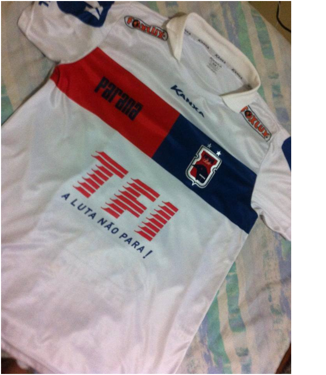 Nova camisa pode ser comercializada até o fim do ano Crédito: Felipe Ribas