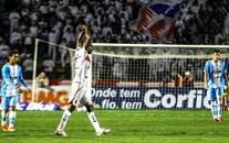 O camisa 9 Reinaldo foi o grande destaque da partida.  Foto: Joka Madruga / Agência Estado.
