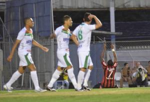 Marcelo marcou o seu quinto gol neste Brasileirão  Foto: Site Oficial Atlético-PR