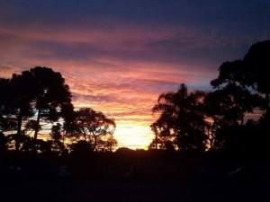 Pôr do Sol mudará de horário a partir de domingo
