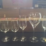 Taça para vinho sobremesa