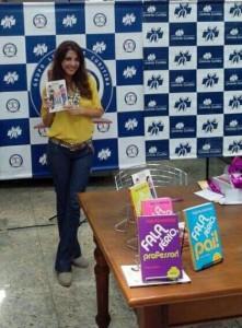 Escritora Thalita Rebouças lança seu 15° livro.