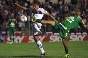 Paraná foi derrotado pela Chapecoense e viu as chances de Acesso quase zerarem Foto: Divulgação Paraná Clube