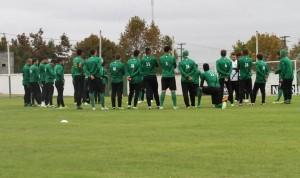 Jogadores fizeram ultimo treino em Curitiba antes de embarcar para o Rio de Janeiro Foto: Divulgação