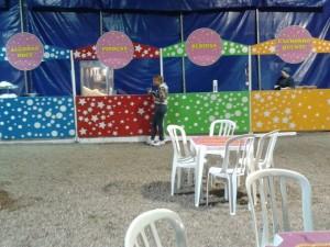 Praça de alimentação Circo dos Sonhos