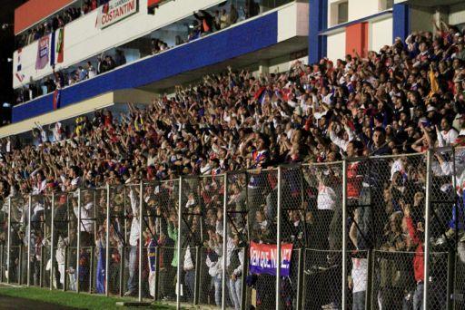 Torcida do Paraná promete lotar a Vila nos jogos finais Foto: Robson Mafra/Site oficial do Paraná