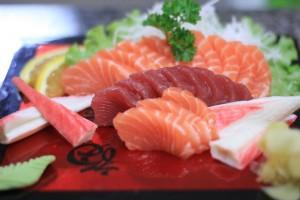 Sashimi de salmão, o preferido dos brasileiros  Crédito: Chef Fernando Patzer