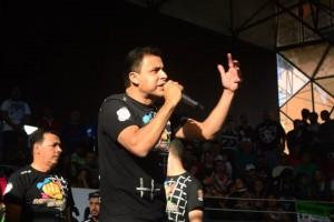 Vereador Valdemir Soares combatendo as drogas Foto: Assessoria do Vereador Valdemir Soares