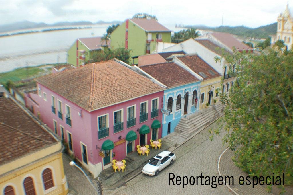 Centro histórico Foto: Letícia Joly