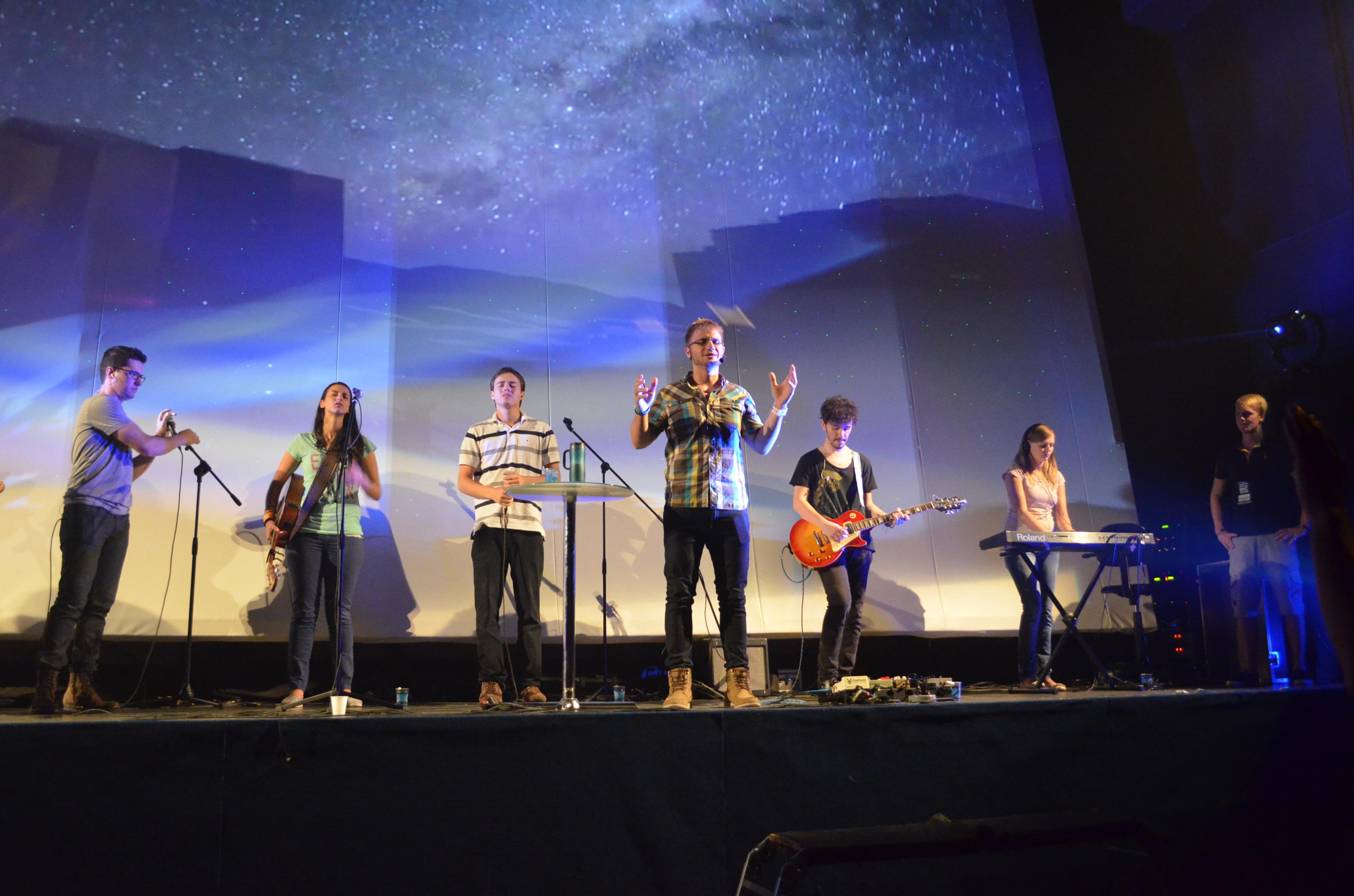 Igreja no cinema. Foto: Amanda Bedide