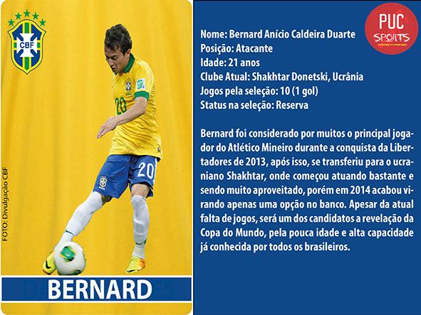 Atacante - Bernard