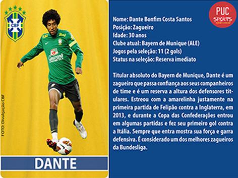 Zagueiro - Dante
