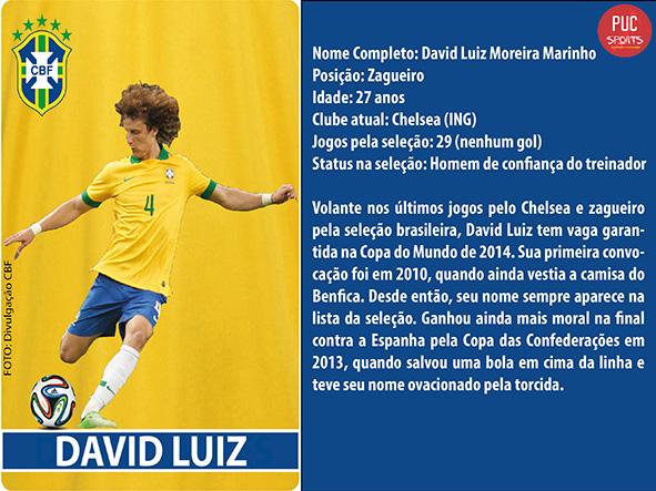 Zagueiro - David Luiz