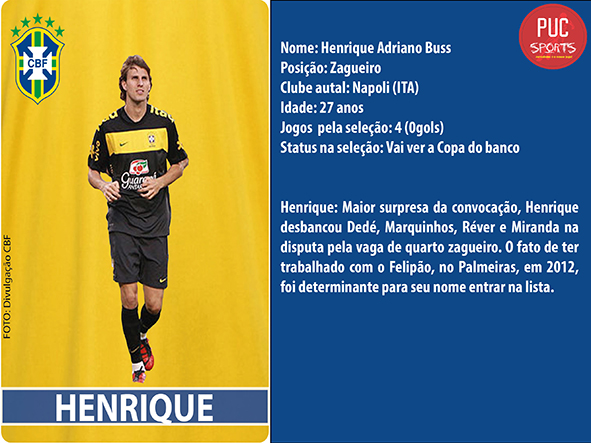 Zagueiro - Henrique