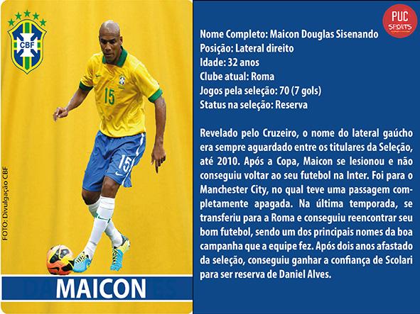 Lateral Direito - Maicon