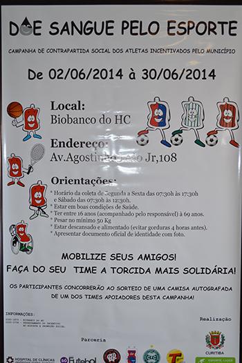 Poster de Doação de Sangue