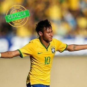 Neymar Junior, o camisa 10 da seleção canarinho. (Divulgação CBF/Rafael Ribeiro)