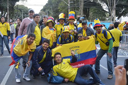 Honduras x Equador