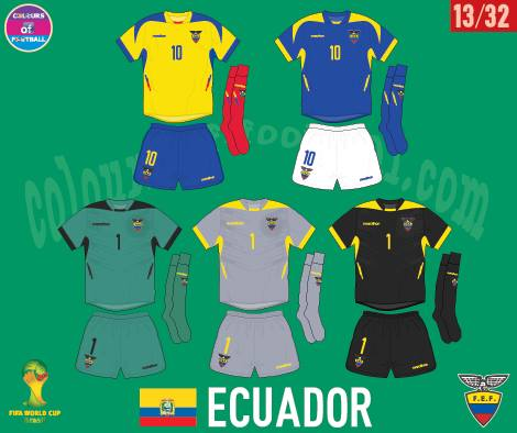 EQUADOR UNIFORME