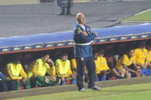 Luiz Felipe Scolari, o comandante da seleção (Foto: Pedro Melo)