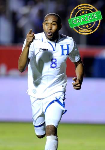 (Wilson Palacios/Divulgação site oficial da Seleção de Honduras)