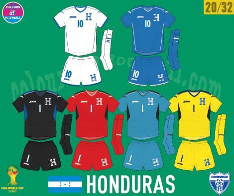 HONDURAS UNIFORME