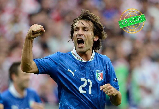 Andrea Pirlo/Site oficial da Seleção da Itália