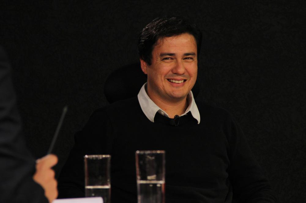 Rodrigo Tomazini, candidato do PSTU ao governo do Paraná