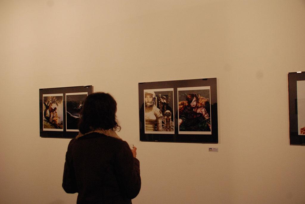 Exposição do argentino Salvador Sanz | Foto: Carolina Mello