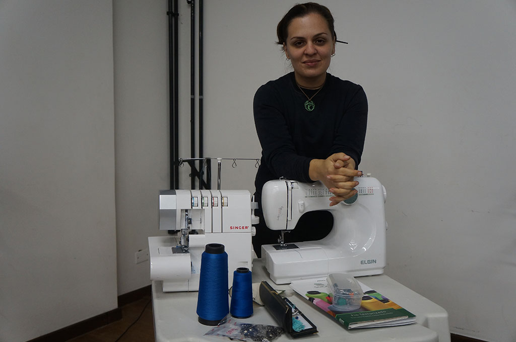 Jéssica Alves ministra oficina de Cosplay | Foto: Carolina Mello