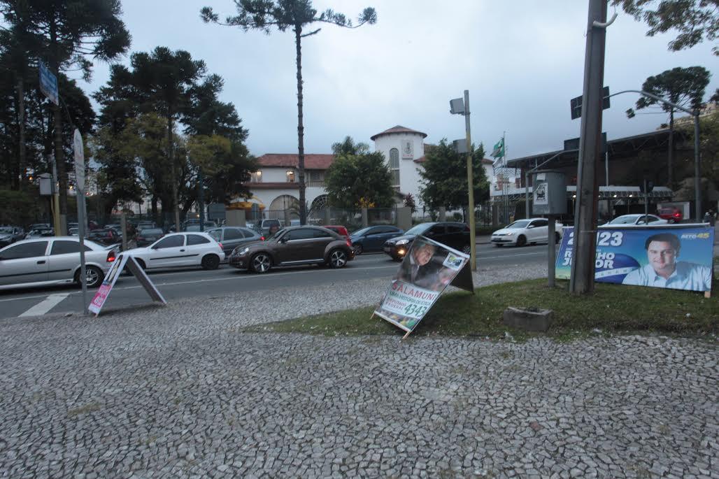 Cavaletes em Curitiba