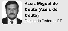 Ranking Políticos - Assis Miguel do Couto  Assis do Couto