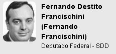 Ranking Políticos - Fernando Destito Francischini  Fernando Francischini