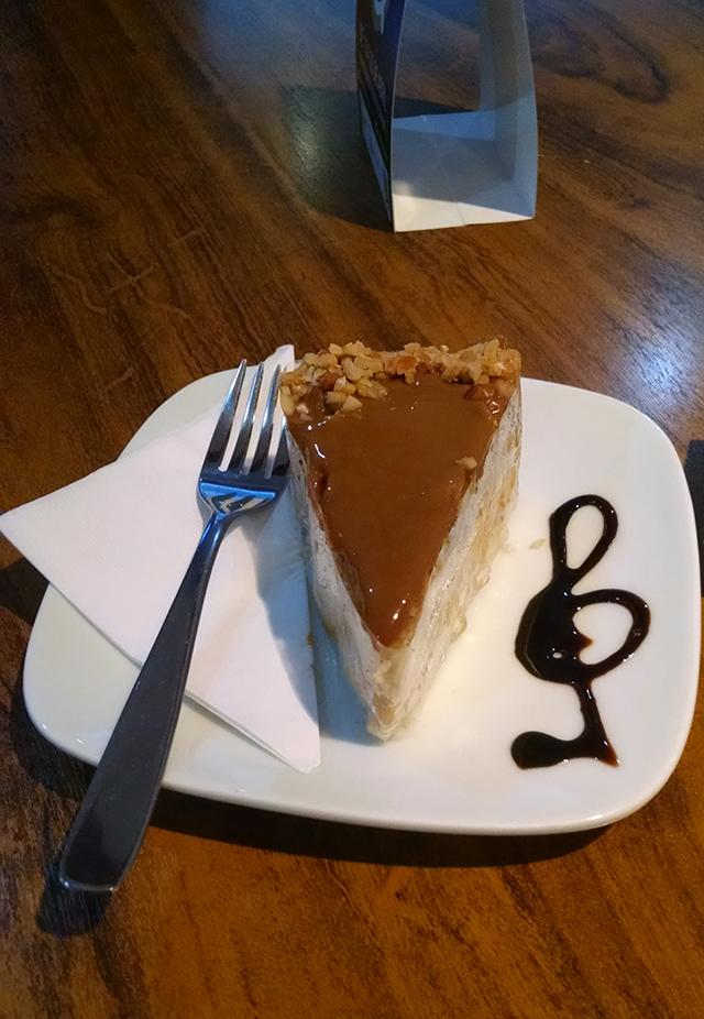Torta de amendoim - Exprèx Caffé