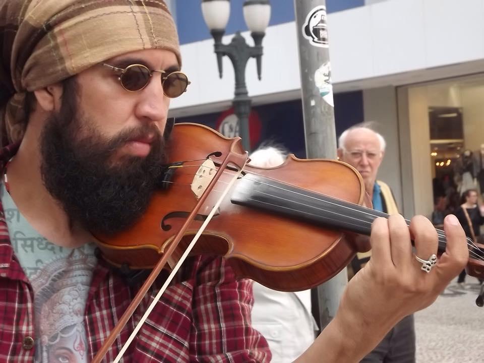 Violinista Ricardo Martins