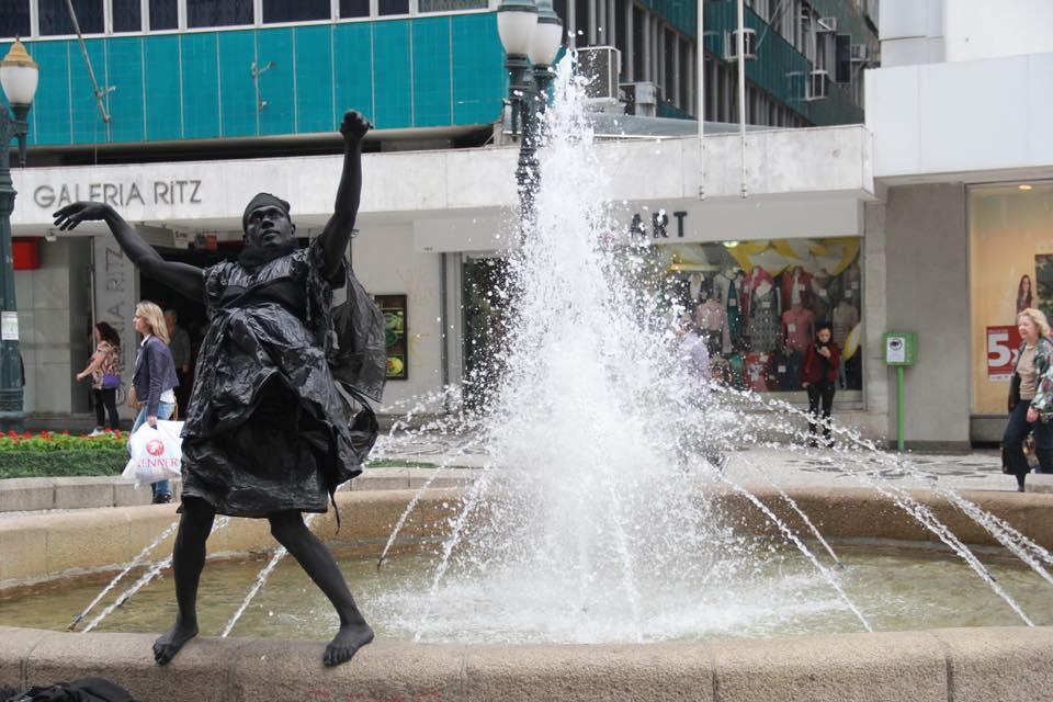 Estátua da fonte