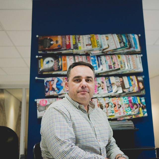Claudio Stringari, um dos fundadores da Central Press / Crédito: Melvin Quaresma