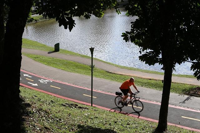 Curitiba está em lista que indica dez cidades do mundo mais agradáveis para se pedalar  (Foto: Cesar Brustolin/SMCS)