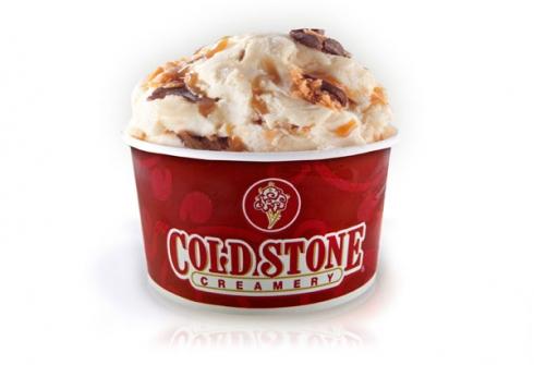 O sorvete salgado da Cold Stone (Imagem: Reprodução)