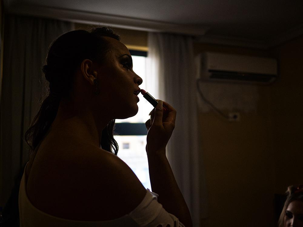 Antes do concurso, as candidatas se concentraram em um hotel (Imagem: Isabella Lanave)