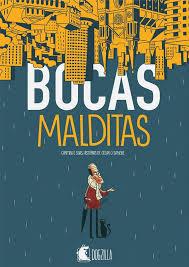 Capa do HQ curitibano Bocas Malditas | Fonte: Editora Dogzilla