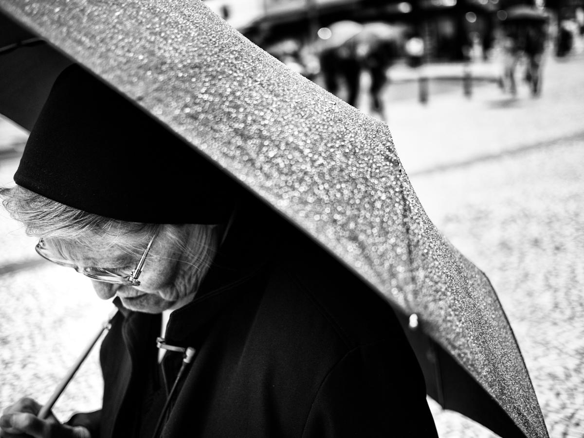 freira chuva