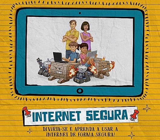 Foto|reprodução da capa do guia internet segura do NIC.