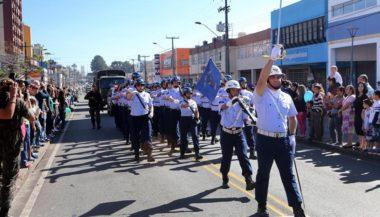 Desfile do dia da Independência. Divulgação:Cesar Brustolin/SMCS