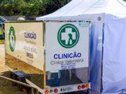 Dois castramóveis percorrem os bairros de Curitiba oferecendo serviço gratuito de castração.